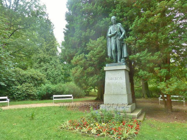Františkovy Lázně - pomník císaře Františka I.