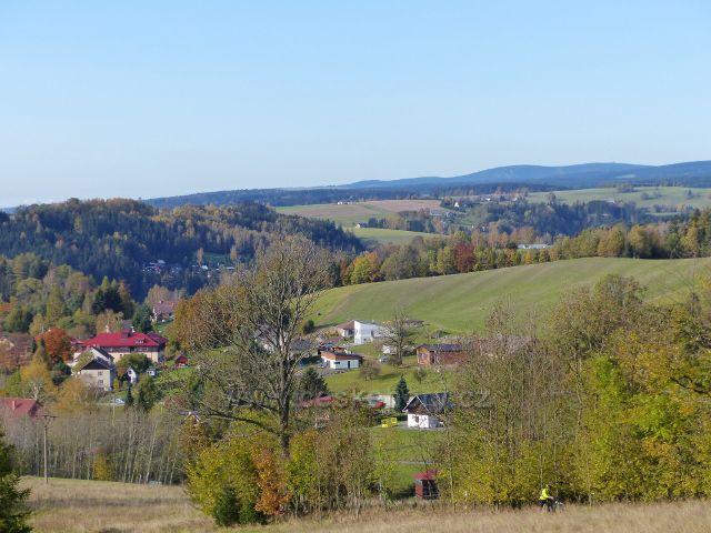 Pastviny - pohled ke Zbudovu v Klášterci nad Orlicí