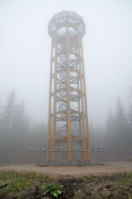 Světlý vrch 729m - nová rozhledna