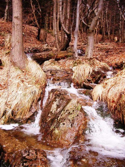 vodní tok směr Jedlová hora