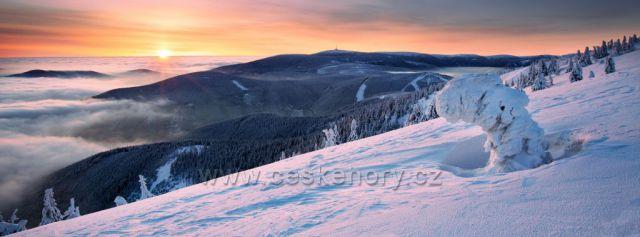 Výhled z Červené hory
