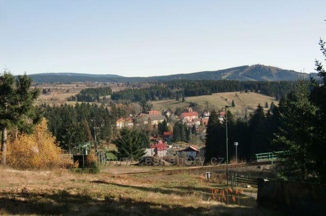 výhled na Plešivec