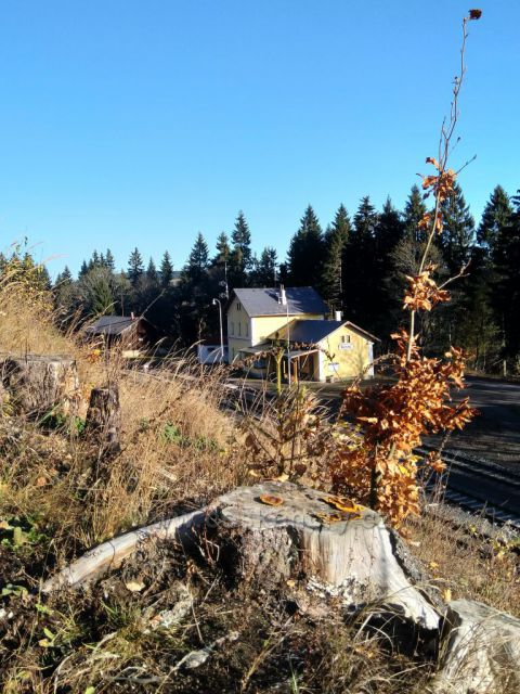 nádraží v Perninku