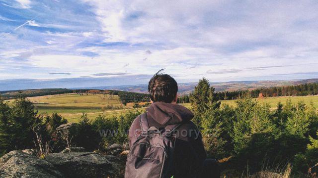 Krušné hory, poblíž Kovářské