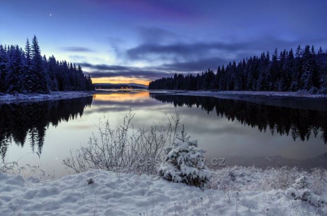 První sníh na Souši - 21.11.2020.