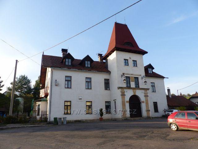 Sobkovice - zrekonstruovaný objekt bývalého Pohostinství Pod věží