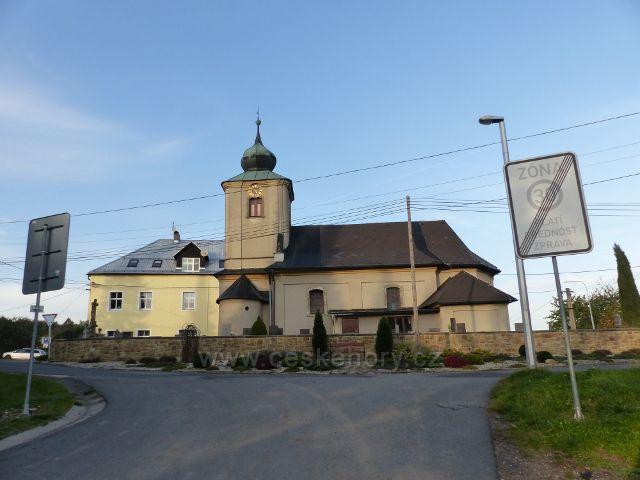 Sobkovice - kostel sv.Prokopa z roku 1774