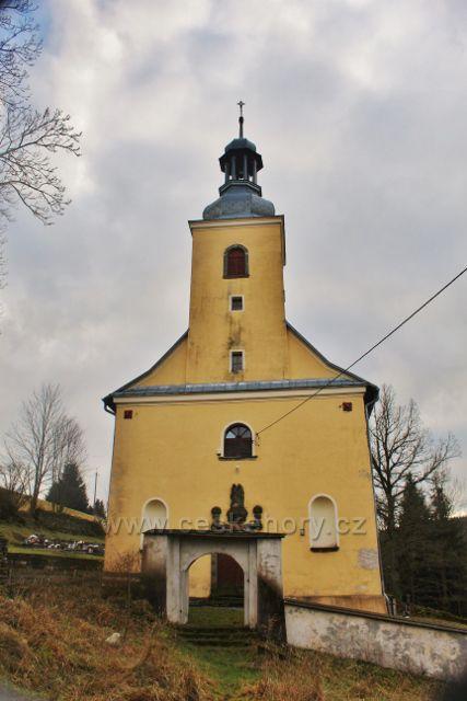 Niemojów - kostel Navštívení Nejsvětější Panny Marie dostal současnou podobu v roce 1716