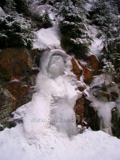 Černý potok - Kühnhaida, madonka z ledu