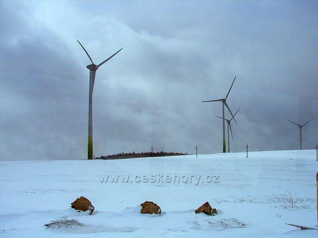 Farna větrných elektráren Rusová - Kryštofovy Hamry