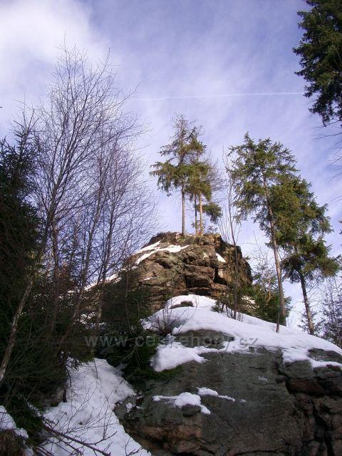 Rysí a Medvědí skály, Medvědí vodopád