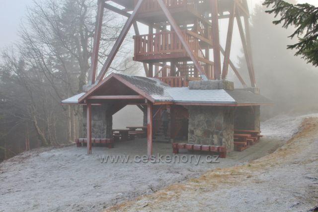 Olešnice v O.h. - polská rozhledna na Vrchmezí