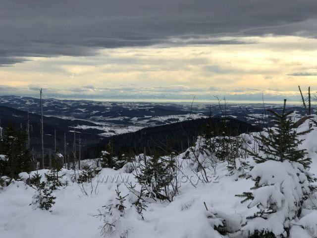 Výhled na Alpy - Plechý