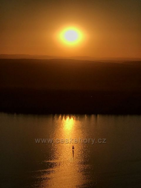 Východ Slunce na Pálavě