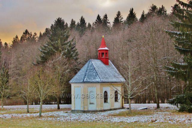Panské Pole - kaple Panny Marie v Údolíčku
