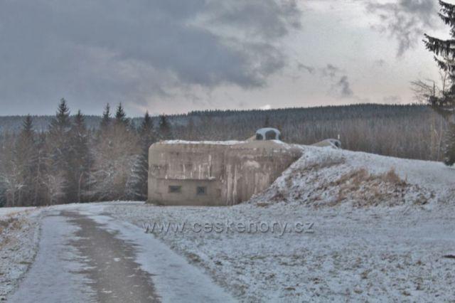 Panské Pole - pěchotní srub R-S 74 Na Holém
