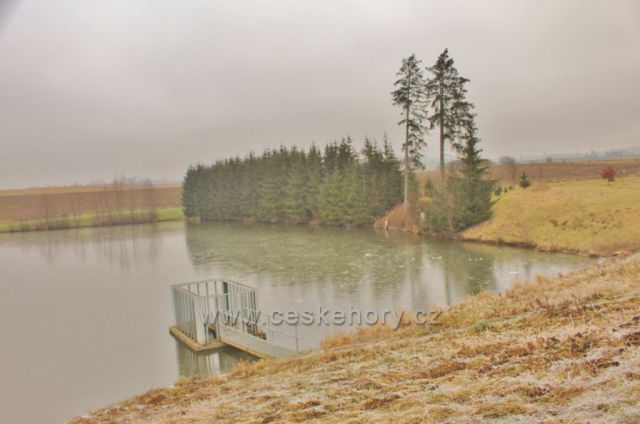 Písečná - Záhořský rybník
