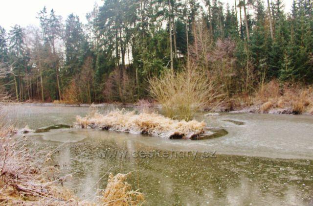 Lukavice - horní část Záhořského rybníku
