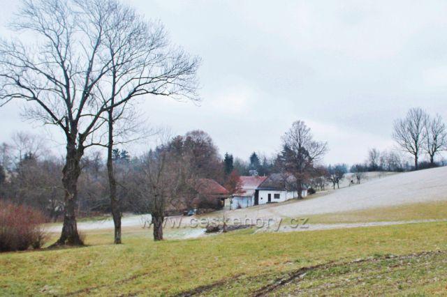 Píečná - samota v Záhořském údolí