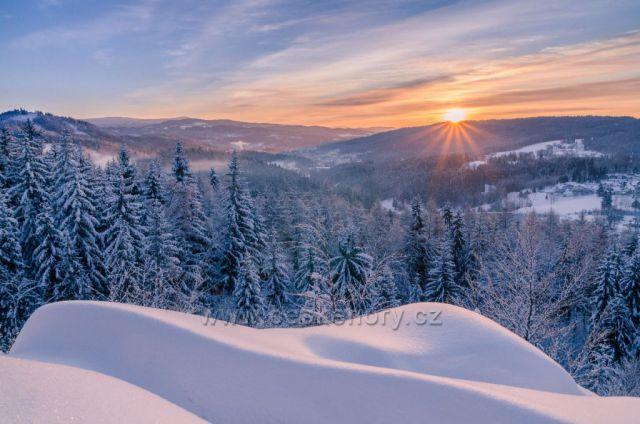 Smržovské mrazivé svítání 31.01.2021