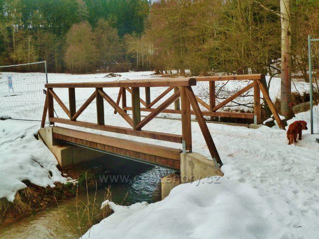 Hnátnice - nový mostek přes Potočnici