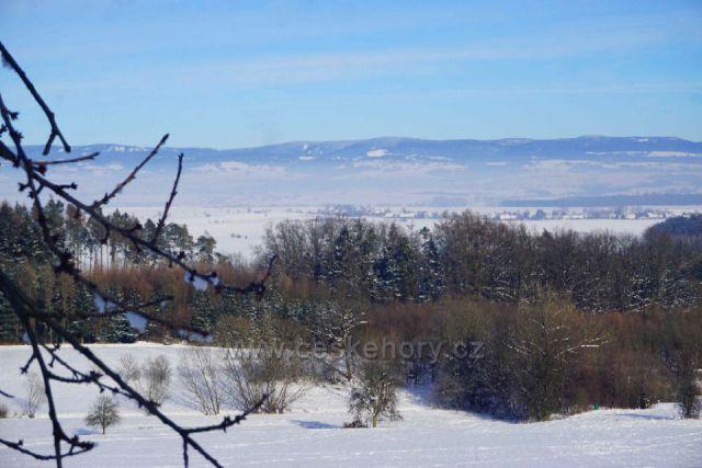 Zimní Orlickéké hory