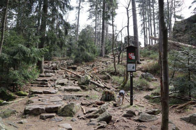 cesta na Devět skal
