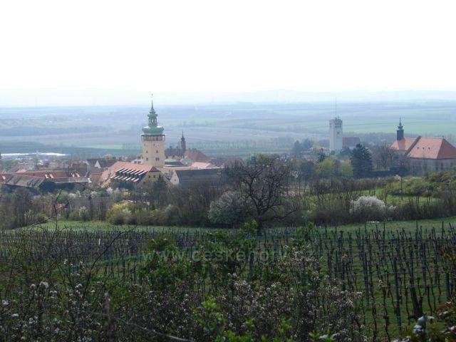 Oblast vinic i na rakouské straně - město Retz
