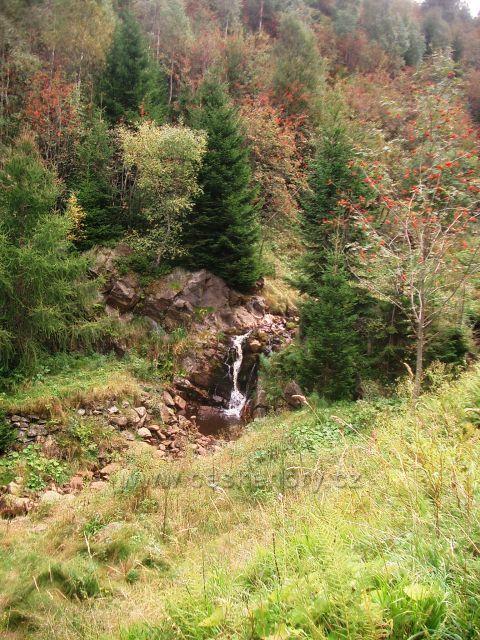 Vodopád v Bezručově údolí
