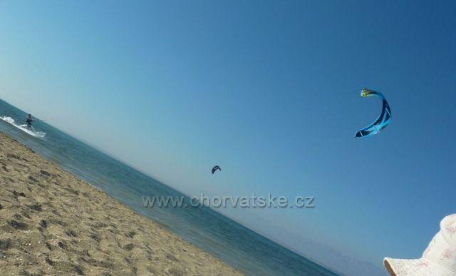 kite pláž Nin