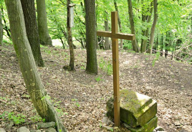 NS Havraní kameny - Borovicový kříž