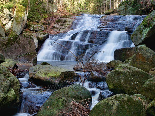 Černá Desná - Dlouhý vodopád.
