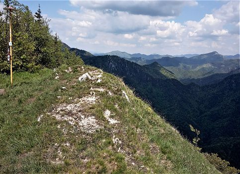 Drienok - pohľad na sever...