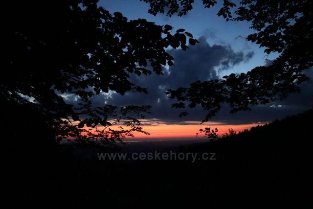 svítání v Rychlebkách