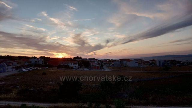 Západ slnka - Velká Slatina VIR