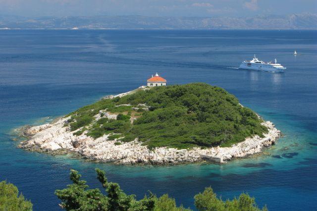 Maják Host - ostrov Vis