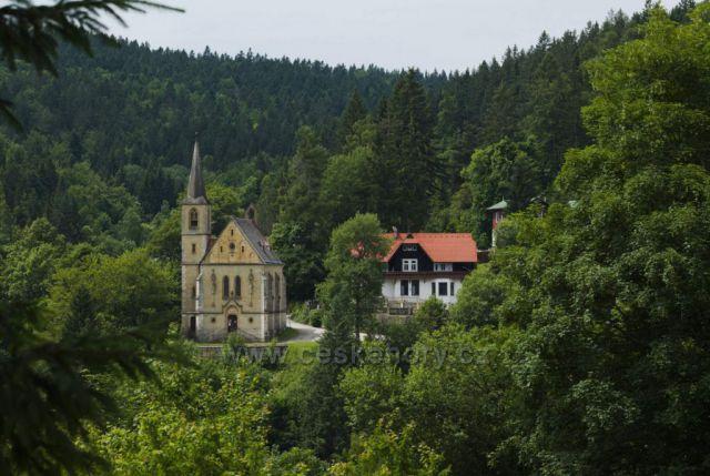Kostel sv. Jana Křtitele v Janských Lázních