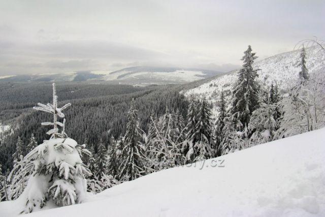 Z míst poblíž Černé hory u Jánských Lázní