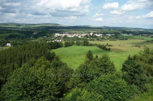 Výhled z Hartenštejna