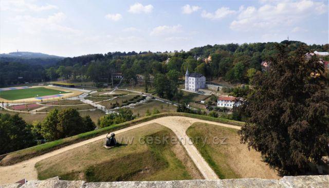 Výhled z Chebského hradu