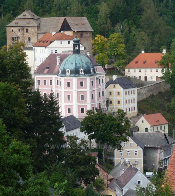 Bečov nad Teplou - zámek a hrad