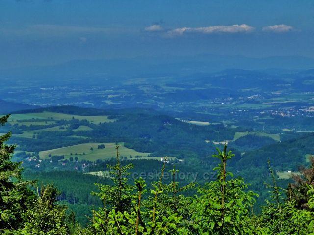 Pohled z Polomského kopce