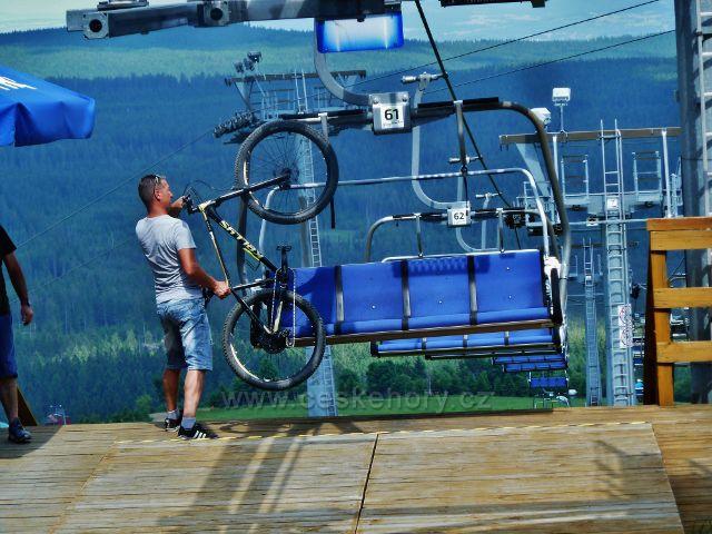"""Šerlich - polská """"cyklistická  lanovka"""