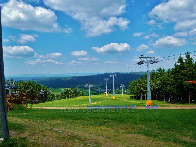 Šerlich - polská lyžařská lanovka