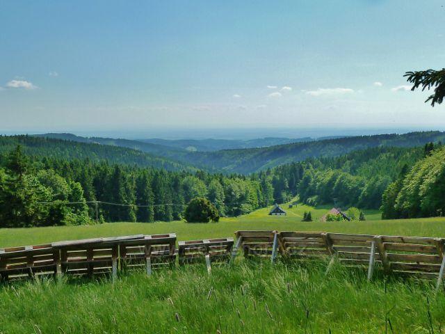 Pohled z úbočí Šerlichu do údolí Bělé