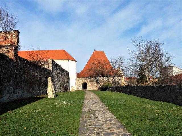 Procházka po hradbách - Kadaň