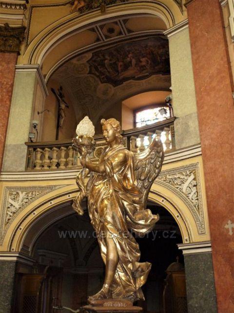 Výzdoba poutní kaple Narození P. Marie