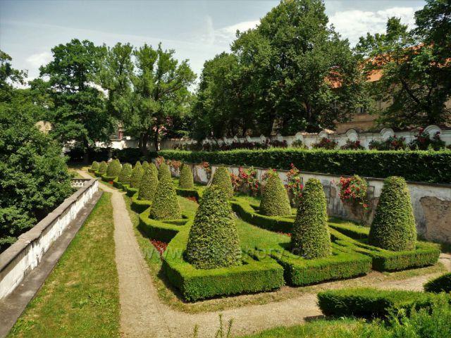 Zámecká zahrada - Duchcov