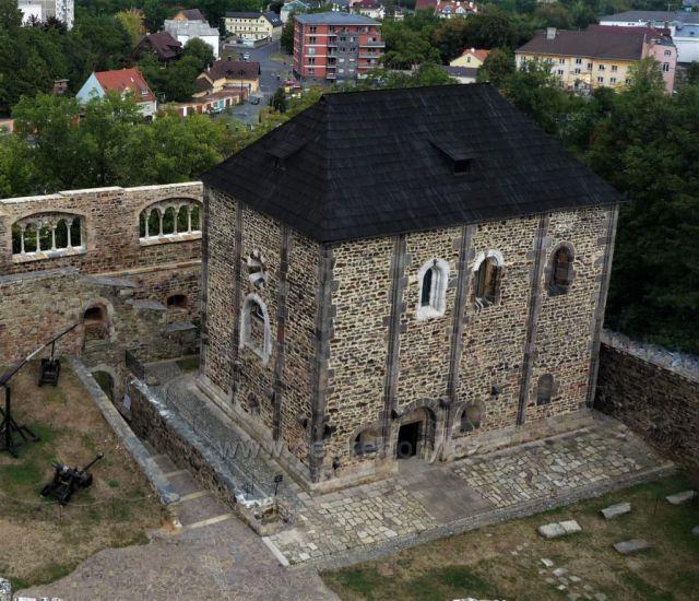 Cheb Kaple sv. Erharda, sv. Martina a sv. Uršuly - Cheb