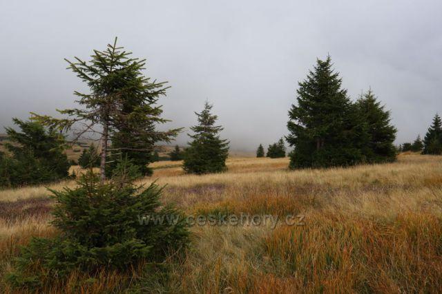 podzim na hřebenech